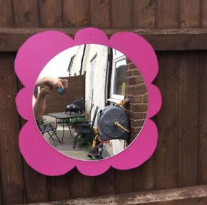 Children's Outdoor Flower Sensory  Mirror Garden Handmade Large Size Nursery