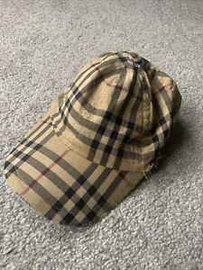 mens burberry cap