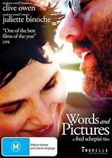 Words And Pictures (Dvd) Comedy, Drama, Romance, Clive Owen, Juliette Binoche