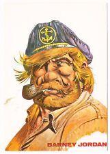 Carte postale BARNEY JORDAN - Hermann Greg - 1984 - Pipe, Marin