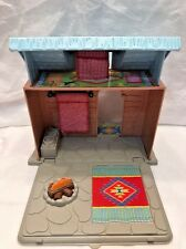 Fisher Price Loving Family Camping Cabin Play House 2010 Blue Top