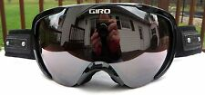 NEW $150 Womens Giro Field Black Winter Snow Ski Goggles Roxy Ladies Zeiss Lens