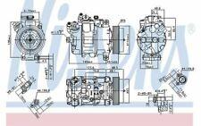 NISSENS Compresseur de climatisation pour BMW Série 3 1 890070 - Mister Auto