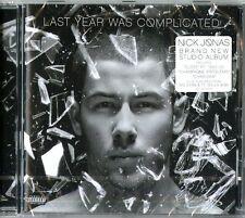 JONAS NICK LAST YEAR WAS COMPLICATED CD NUOVO SIGILLATO !!