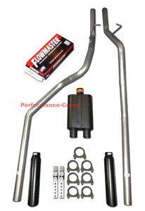 94-01 Dodge Ram Dual Exhaust Mandrel Bent - Flowmaster