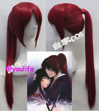 Rurouni Kenshin Himura Kenshin Red Style Cosplay Party hair Ear wigs Y23