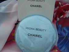 Chanel Make up / Kosmetiktasche bleu durchsichtig rund 13 cm neu in OVP