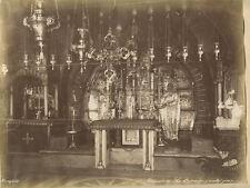 LA CHAPELLE DU CALVAIRE INTERIOR GREEK ORTHODOX CHURCH PHOTO BY BONFILS