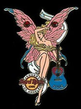 Hard Rock Cafe LOS ANGELES January 2006 Butterfly Birthstone FAIRY Girl PIN #1