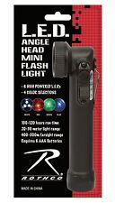 Rothco 528 Led Mini Army Style Flashlight - Waterproof Level: Ip44 - Black