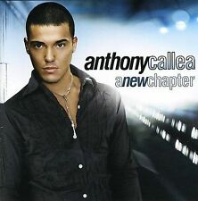 Anthony Callea : A New Chapter *** BRAND NEW CD ***