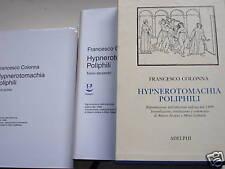 Colonna, Hypnerotomachia poliphili, adelphi 1998 due vv
