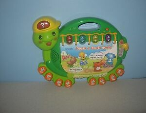 VTech - Touch and Teach Turtle Electronic Talking learning letters and shapes