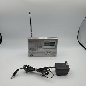 Radio Shack 12-261 NOAA Weather Public Alert Radio Alarm Clock with AC adapter