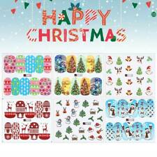 48Pcs Christmas Nail Art Water Decals, Nail Stickers, Nail Decals, Snowflakes
