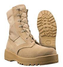 WELLCO MEN'S HOT WEATHER DESERT TAN ARMY COMBAT BOOTS VIBRAM , 10.5 10-1/2 N