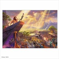 1000 Piece Jigsaw Puzzle Thomas Kinkade The Lion King Special Art Collection