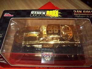 1:24 scale ERNIE IRVAN 1 of 4998 SKITTLES STOCKROD 24K GOLD 1998 STOCK RODS SER.