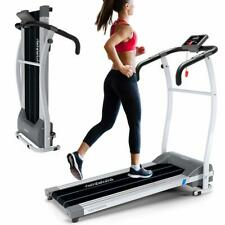 Laufband LCD-Display Jogging Fitnessgerät Klappbar Heimtrainer Runner Walking