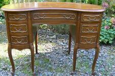 Walnut Queen Anne Original Antique Desks