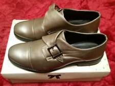 Park Lane Women's Size 8 Pewter Metallic Monk Shoe With Buckle NEW