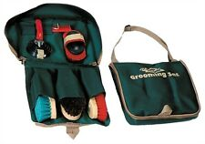 Decker No. GBS300 Essential Grooming Brush Kit for Horses with Stall Bag  New