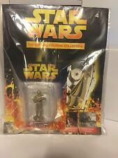 STAR WARS Official Figurine Collection #4 C3PO & Magazine New