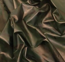 Genuine Lambskin Camouflage Print Leather Hide Skin Sb01 Forest 1.25-1.50 Oz