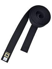 Kwon- Master Belt. Schwarzer Gürtel. 240cm - 320cm. Karate. Taekwondo. Judo. ect