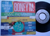 "Boney M. / The Summer Mega Mix / The Calendar Song 7"" Single Vinyl 1989"