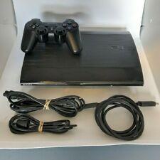 Sony PlayStation 3 Slim Edition 250GB Black Console PS3