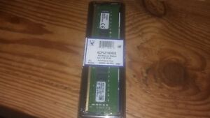 Barette Memoire Kingston 8 Go DDR4 SDRAM 2133 MHz KCP421ND8/8