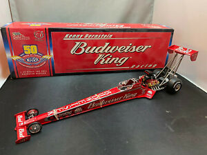 Racing Champions Kenny Bernstein Budweiser King Dragster 1/24 Diecast NHRA