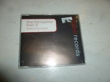 THE TAMPERER Featuring MAYA - Feel It - 1998 UK 4-mix CD single