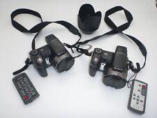 2X Sony Cyber-shot DSC-H7 8.1MP Digital Cameras