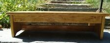 "Custom Request STRAIGHT LEG Profile, Handcrafted Heavy Duty Wood Step Stool 24""L"