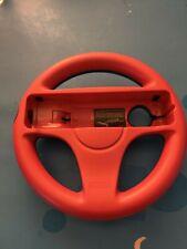 Nintendo Wii Racing Steering Wheel Remote Holder Mario Kart Red and Blue OEM