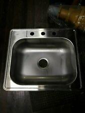 """Elkay Dayton DSE125223 25"""" x 22"""" Elite Stainless Steel Top Mount Sink GAR1196"""