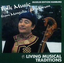 CD LIVING Musical Traditions-folk music from Mongolia/Karakorum