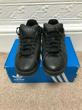 Adidas Campus SK Black/Black Leather Rare Deadstock Skate Size UK 8 Brand New