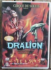 CIRQUE DU SOLEIL    DRALION        Region 4   DVD    2001                 (1431)