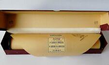 """FIRST RULLO SONORO """"3^SERENATA, 4^CANZONETTA ABRUZZESE - DE NARDIS"""" n.5259- 1926"""