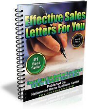 EFFECTIVE SALES LETTER FOR YOU PDF EBOOK FREE SHIPPING RESALE RIGHTS