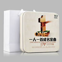 Chinese Classic old song + pop music LP car CDs 10cds  正版一人一首成名曲汽车载CD黑胶碟片