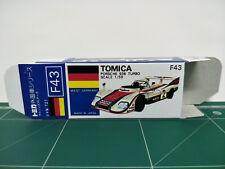 REPRODUCTION BOX for Tomica Blue Box No.F43 Porsche 936 Turbo