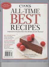 Cook's Illustrated All-Time Best Recipes Special Flourless Chocolate Cake 2014