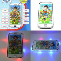1x Musical Phone Mobile Sound Toddler Paw Patrol Marshall Skye Toy Birthday Gift