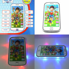 1x Musical Phone Mobile Sound Toddler Paw Patrol Marshall Skye Toy Birthday Gift
