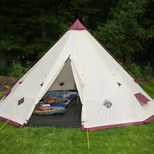 SKANDIKA TIPII 301 TENTE CAMPING TIPI INDIEN 12 PERS 3M HAUTEUR NEUF