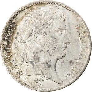 [#876050] Coin, France, Napoléon I, 5 Francs, 1812, Lille, VF(30-35), Silver